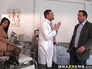 Brazzers - Doctor Adventures -  Milgrams Experiment scene starring Melissa Ria and Yanick Shaft