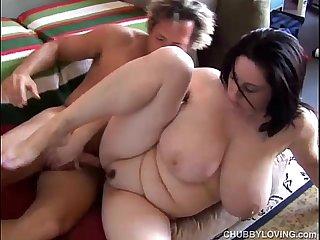 Beautiful big tits BBW Kitty Lee