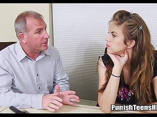 Dad Uses Daughter To Get Money - Full Vid at PunishTeensHD.com