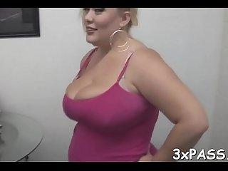 Ebony guy fucks fat gal