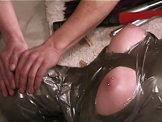 BDSM - Encased, Mummified, Beaten and Fucked