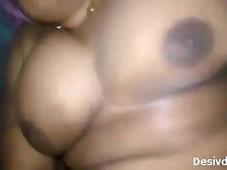 Desi Big Boobs Aunty Fucked Hard By Servant