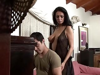 My bitch of a wife seduces younger boy Vol. 3