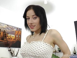 FirstAnalQuest.com - ANAL SEX POSITIONS EXPLORED WITH BIG TITS RUSSIAN GIRL