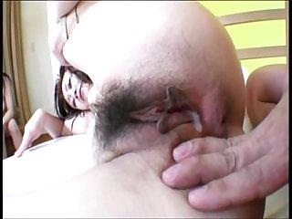 Hot Asian Threesome